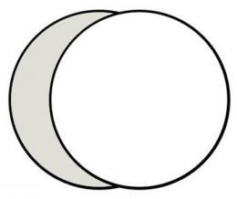 Linkstar R-110SW odrazná deska 2v1 110cm (støíbrná/bílá)