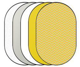 Linkstar FR-6090W odrazná deska 5v1 60x90 cm
