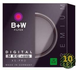 B W UV filtr 72mm XS-PRO DIGITAL MRC nano