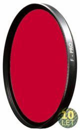B W 091E èervený filtr pro è/b 39mm