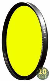 B W 022M støednì žlutý filtr pro è/b 62mm MRC
