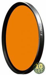 B W 040M žluto oranžový filtr pro è/b 72mm MRC