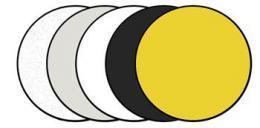Aputure Blazzeo FR110 - odrazná deska 5v1, 110 cm