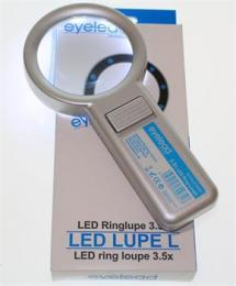 Eyelead osvìtlená kruhová lupa 3,5x (10x LED)