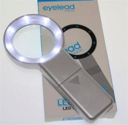 Eyelead osvìtlená kruhová lupa 5x (8x LED)