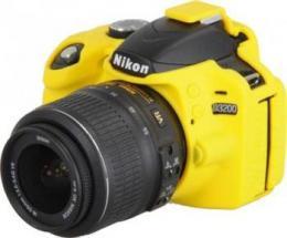 Easy Cover Reflex Silic Nikon D5200 Yellow