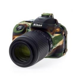 Easy Cover Reflex Silic Nikon D5300 Camouflage