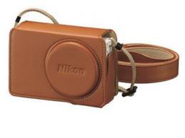 Nikon CS-CP4-7 kožené pouzdro pro Coolpix P340 Brown