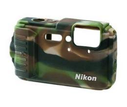 Nikon CF-CP002(b) silikonový návlek pro Coolpix AW130, Camouflage (maskáè) - bulk