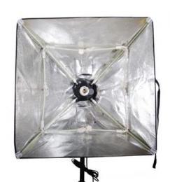 Falcon Eyes LH-ESB5050  objímka se softboxem E27 - 50x50 cm