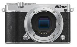 Nikon 1 J5 tìlo, støíbrná