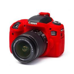 Easy Cover Pouzdro Reflex Silic Canon 760D Red