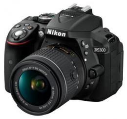 NIKON D5300 Black   18-55 VR AF-P