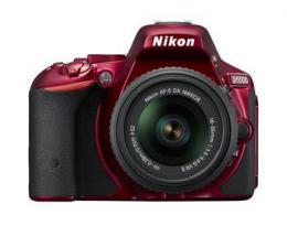 NIKON D5500 Red   18-55 VR AF-P