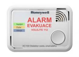 Honeywell XC100-CS, hlásiè oxidu uhelnatého, CO alarm
