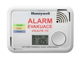Honeywell XC100D-CS, hlásiè oxidu uhelnatého, CO alarm