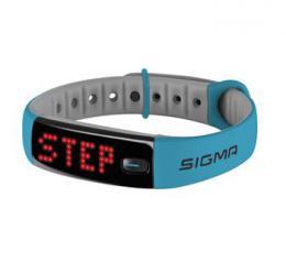 SIGMA Activo fitness náramek modrý