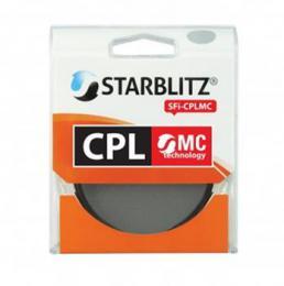 Starblitz cirkulárnì polarizaèní filtr 62mm Multicoating