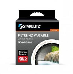 Starblitz neutrálnì šedý filtr variabilní 2-400x 62mm