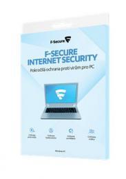 F-Secure INTERNET SECURITY, 3 zaøízení / 1 rok / elektronická licence