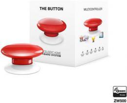 Fibaro The Button, multifunkèní tlaèítko, Z-Wave Plus, èervená