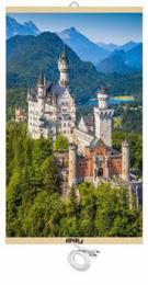 UNITY energeticky úsporný topný infrapanel - Hrad Neuschwanstein