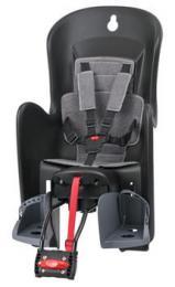 Polisport Bilby RS dìtská sedaèka zadní samonosná, èerno-šedá
