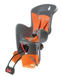 Polisport Bilby RS dìtská sedaèka zadní samonosná, šedo-oranžová
