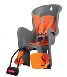Polisport Bilby dìtská sedaèka zadní samonosná, šedo-oranžová