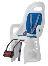 Polisport Groovy dìtská sedaèka zadní samonosná, bílo-modrá