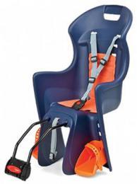 Polisport Boodie dìtská sedaèka zadní samonosná, modro-oranžová