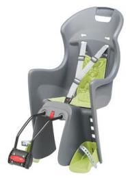 Polisport Boodie dìtská sedaèka zadní samonosná, šedo-zelená