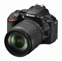 NIKON D5600 Black   18-105 VR