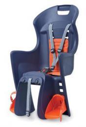 Polisport Boodie RMS dìtská sedaèka na nosiè, modro-oranžová