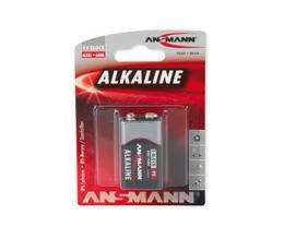 Ansmann 6LR61 9V-Block RED alkalická baterie 9 V bl1