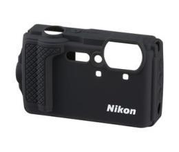 Nikon silikonový návlek pro Coolpix W300, Black (èerná)