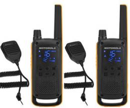 Motorola TLKR T82 Extreme, RSM Pack, žlutá/èerná