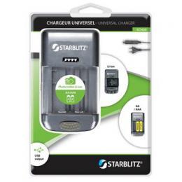 Starblitz SCH20 univerzální nabíjeèka baterií
