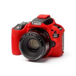 Easy Cover Pouzdro Reflex Silic Canon 200D Red