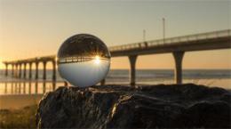 Larmor køiš�álová fotografická koule pro kreativní fotografy 60mm