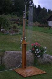 Zahradní sprcha Cedr