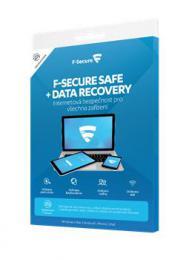 F-Secure SAFE DR, 3 zaøízení / 1 rok  Data Recovery 1 zaøízení / 1 rok, el. licence