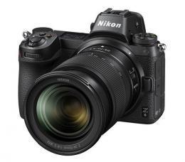 Nikon Z6   adaptér na bajonet F   24-70mm (Z) f/4 S- systémový fotoaparát