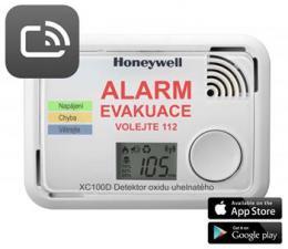 Honeywell XC100D-CSSK-A, Smart detektor a hlásiè oxidu uhelnatého, ScanApp, B-Stock