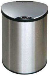 Petit bezdotykový odpadkový koš 12 l, nerezový senzorový, Rozbaleno