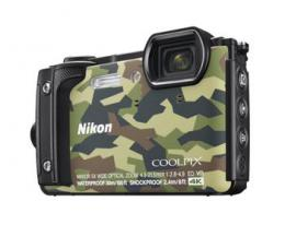 NIKON COOLPIX W300 Camouflage   2 in 1 plovoucí popruh