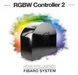 Fibaro Modul øízení barevných RGB / RGBW LED páskù (vestavný modul), Z-Wave Plus