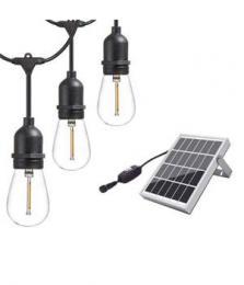 iQtech iPro 10, solární venkovní svìtlo, 10 LED E27 žárovek, 6W