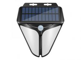 iQtech Solar 36 solární venkovní svìtlo, 36 LED, senzor, bezdrátové, bílé