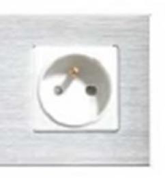 iQtech SmartLife JW04A-S, chytrá Wi-Fi zásuvka s kolíkem, 16 A, mìøení spotøeby, Hliník støíbrná